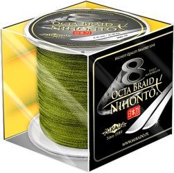 Plecionka MIKADO Nihonto Octa Braid Green Na Metry