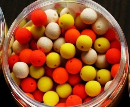 Kulki Hookbaits GENESIS CARP Orange Liver 9mm 50g